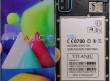 Titanic T7 flash file firmware,