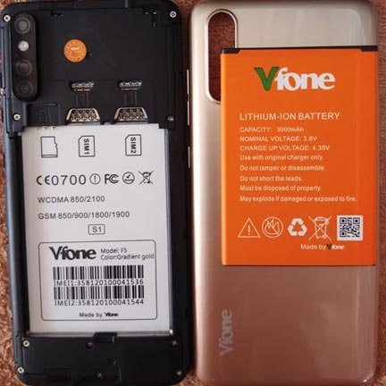 Vfone F5 flash file firmware s1