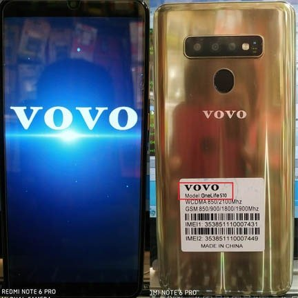 Vovo Onelife S10 flash file firmware,