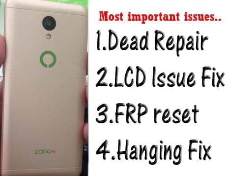 Zong Z2 flash file firmware,