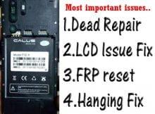 Calus P30 X flash file firmware,