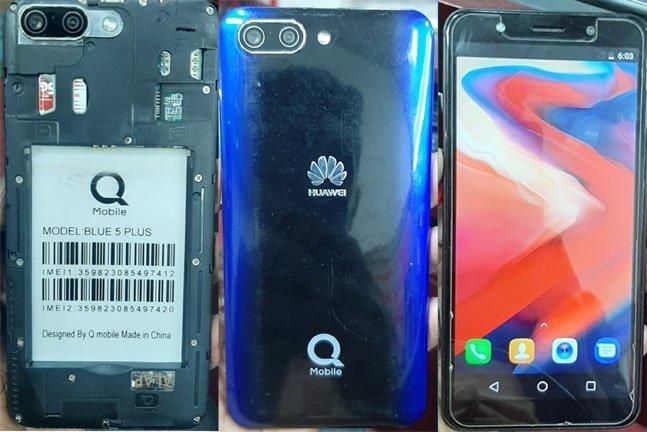 Qmobile Blue 5 plus flash file firmware,