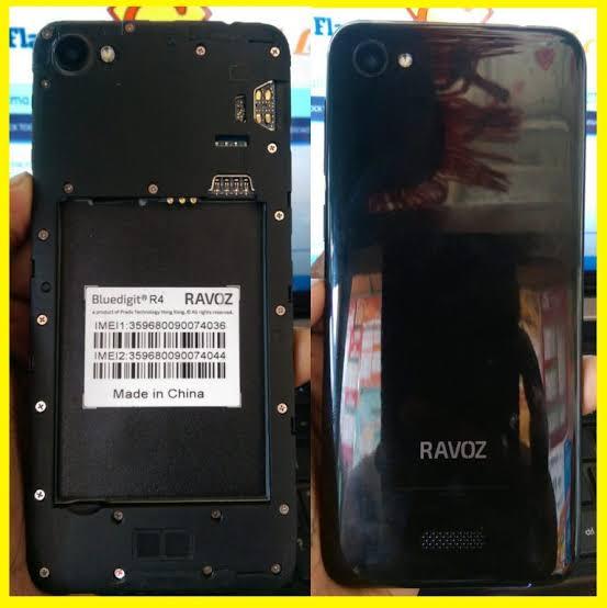 Ravoz R4 flash file firmware,