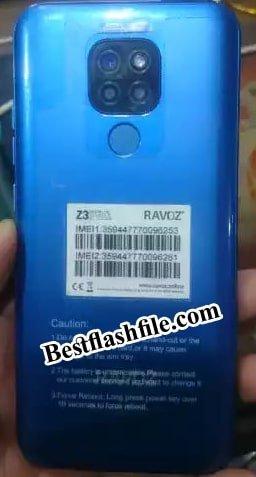 Ravoz Z3 Pro flash file firmware,