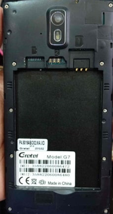 Gretel G7 flash file firmware tested