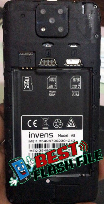 Invens A8 flash file firmware,