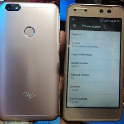 Itel S12 flash file firmware,
