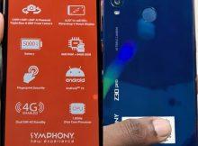 Symphony Z30 Pro flash file firmware,