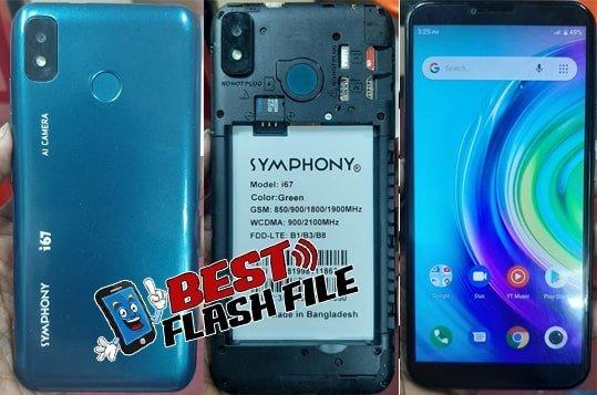 Symphony i67 flash file firmware,