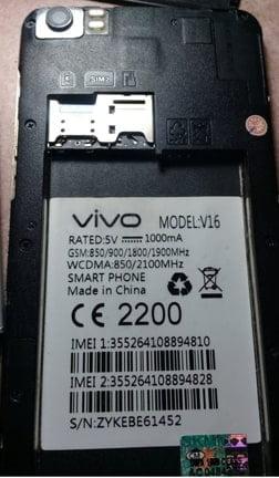 Vivo Clone V16 flash file firmware,