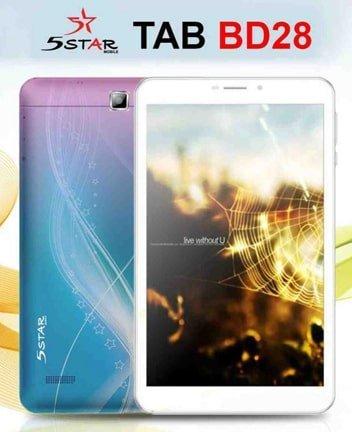 5star BD28 Tab flash file firmware,