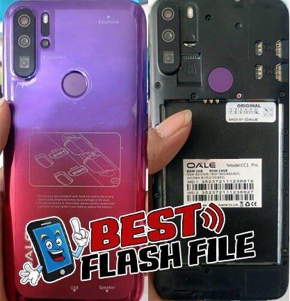 Oale CC1 Pro flash file firmware,