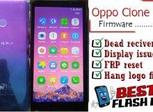 Oppo Clone A40 flash file firmware,
