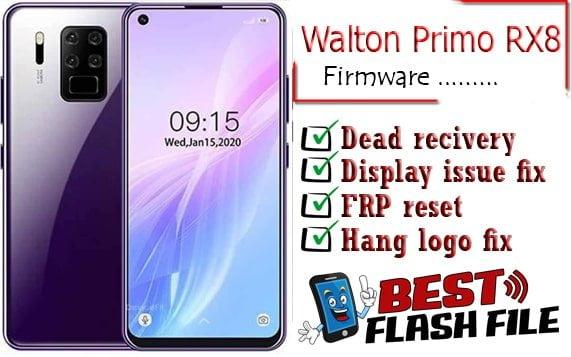 Walton Primo RX8 flash file firmware,