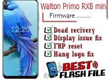 Walton Primo RX8 mini flash file firmware,