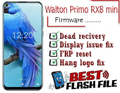 Walton Primo RX8 mini flash file firmware,