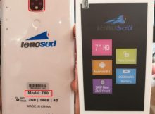 Lenosed T80 Tab flash file firmware,