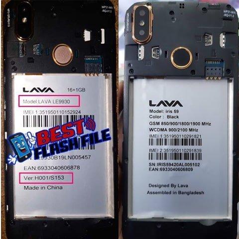 Lava LE9930 flash file firmware,