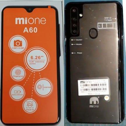 Mione A60 flash file firmware,
