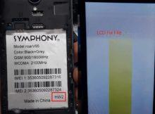 Symphony V95 flash file firmware,