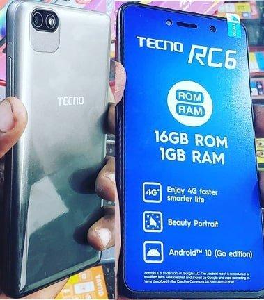 Tecno RC6 flash file firmware,