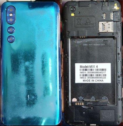 Huawei Clone Mix 4 flash file firmware,