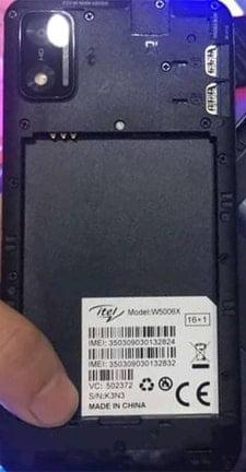 Itel W5006X flash file firmware,