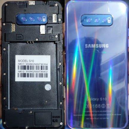 Samsung Clone S10 flash file firmware,