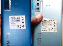 Tecno CG6 flash file firmware,