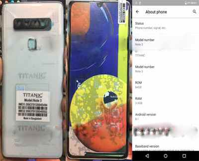 Titanic Note 3 flash file firmware,