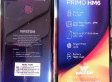 Walton Primo HM6 flash file firmware,