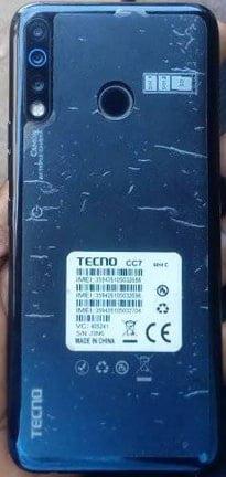 Tecno CC7 flash file firmware,