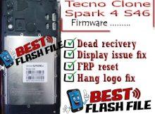 Tecno Clone Spark 4 S46 flash file firmware,