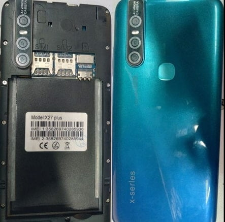 X-Series X27 Plus flash file firmware,
