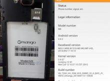 Gmango M9 flash file firmware,