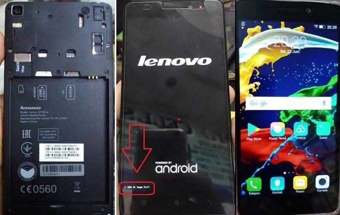 Lenovo A7000-A flash file firmware,