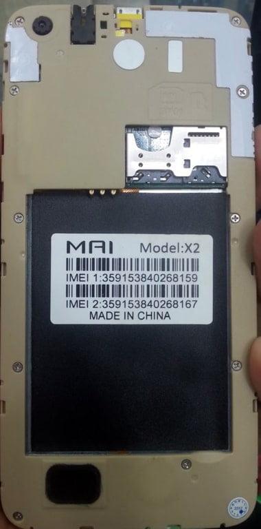 Mai X2 flash file firmware,