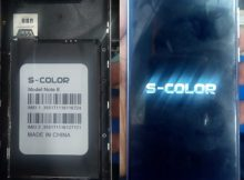 S-Color Note 8 flash file firmware,