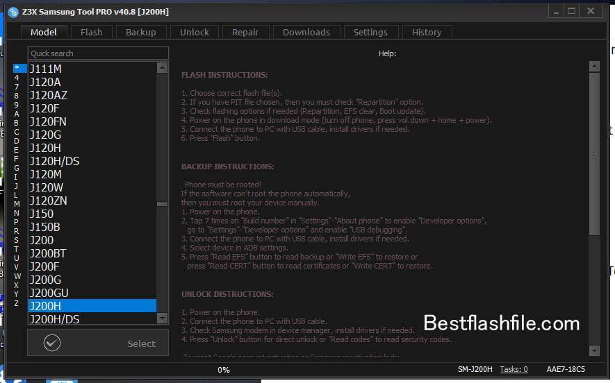 Download Z3x Samsung Tool PRO v40.8 Setup Latest Version