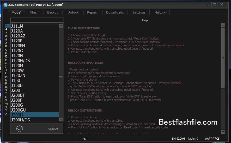 Download Z3x Samsung Tool PRO v41.1 Setup Latest Version