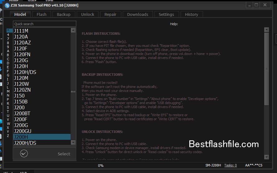 Download Z3x Samsung Tool PRO v41.10 Setup Latest Version