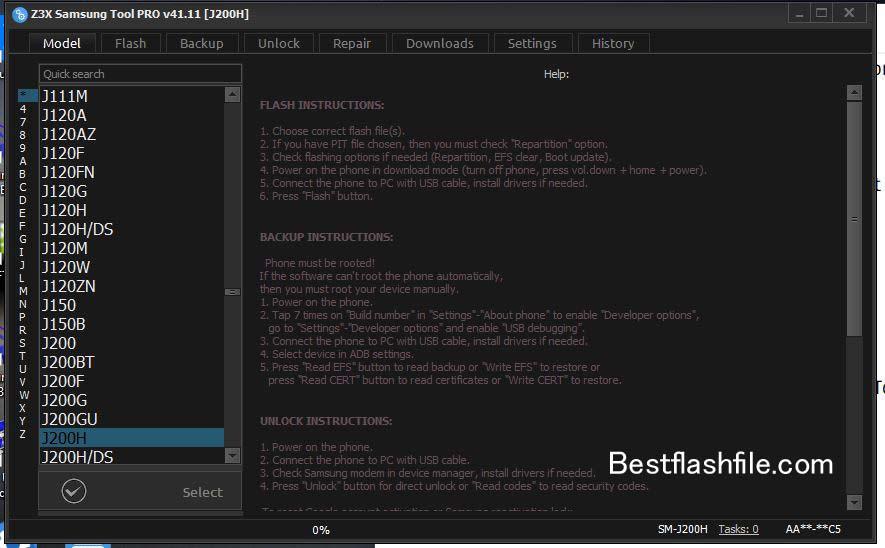 Download Z3x Samsung Tool PRO v41.11 Setup Latest Version
