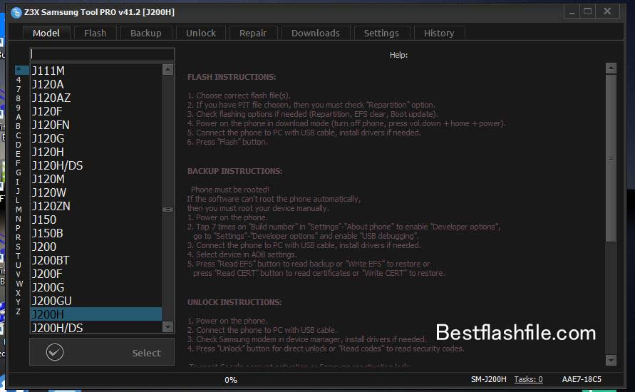 Download Z3x Samsung Tool PRO v41.2 Setup Latest Version