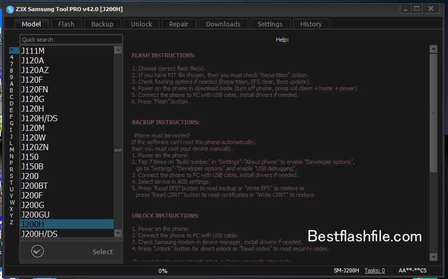 Download Z3x Samsung Tool PRO v42.0 Setup Latest Version