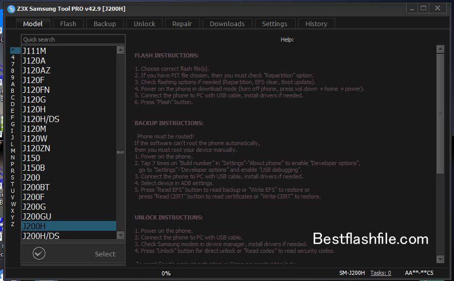 Download Z3x Samsung Tool PRO v42.9 Setup Latest Version