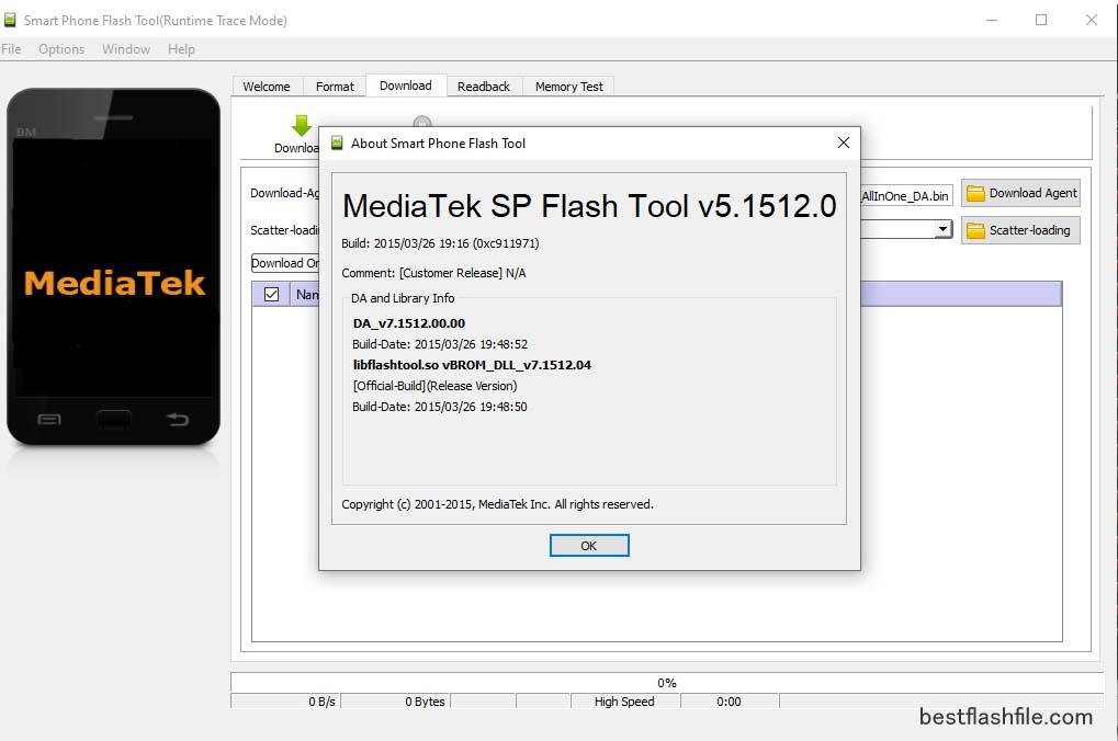 sp flash tool latest version 2021,