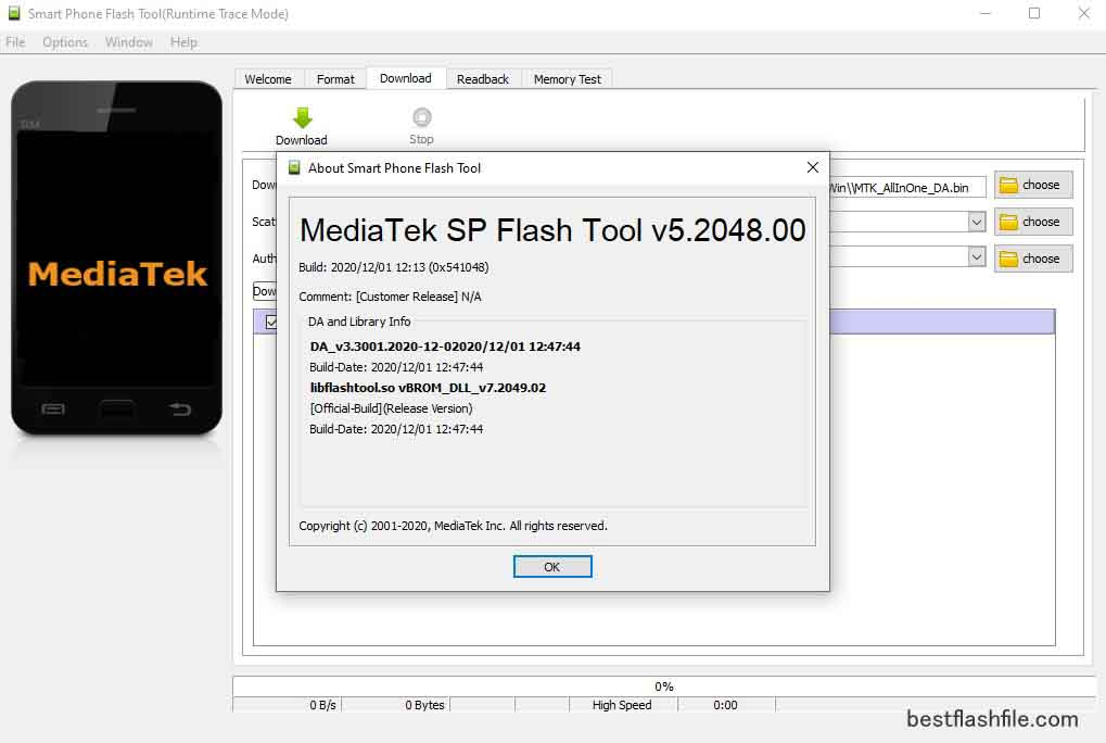SP Flash Tool v5.2048 Download Latest Version For PC