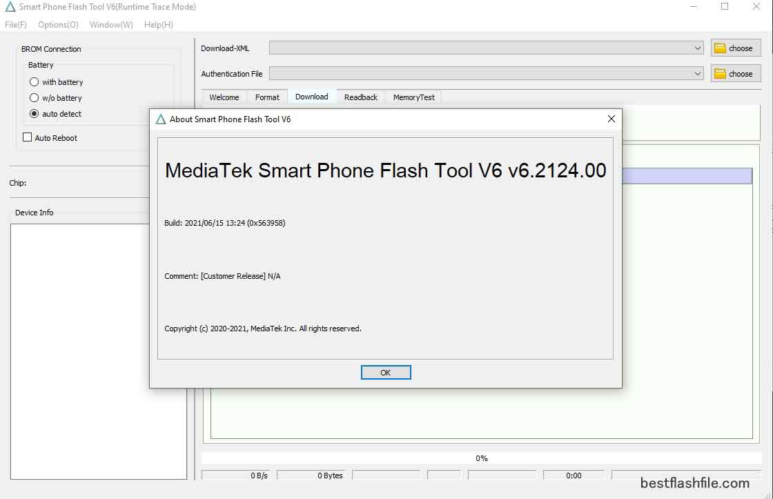 SP Flash Tool v6.2124 Download Latest Version For PC
